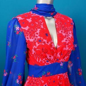 TWISTED WUNDER 1970's Ukrainian Folk Dress / (NWT)